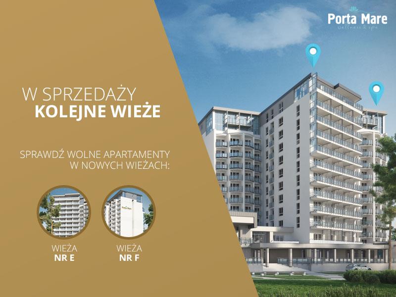 Nowe apartamenty nad morzem w sprzedaży