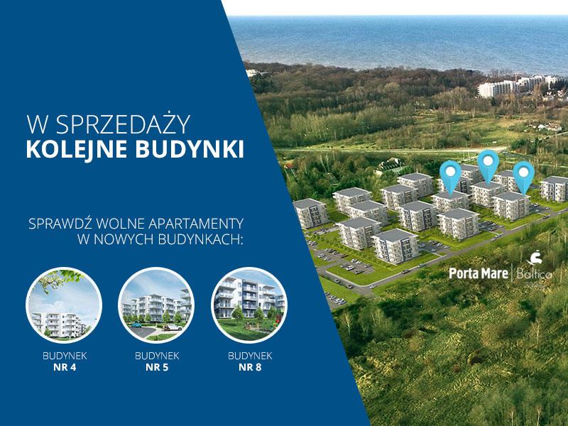 Nowe budynki w sprzedaży - 4,5 i 8